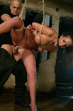 Richelle ryan chained in bondage and fucked by ben english