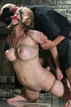 Anna mill plays a peasant girl who is abused by her wax master
