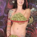 Beautiful Busty Tattooed 420 Stash Babe
