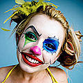 Lexi Belle is a clown