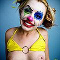 Lexi Belle is a clown