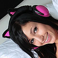 The sex kitten nex door Catie Minx battles Hello Kitty for cute kitty supremacy