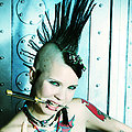Punk Tattooed Teen Tara Toxic Halloween