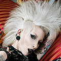Wild Punk Pin-up Mohawk Beauty Razor Candi