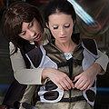 CosplayErotica - Han Solo StarWars vs Boomer Battlestar Galactica nude cosplay
