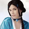 Katara (Avatar) nude cosplay