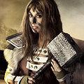 Aela (The Elder Scrolls) nude cosplay