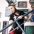 Dangerously Sexy Cute Mohawk Punk Schoolgirl