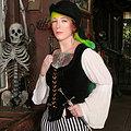 Swashbuckling Tattooed Pirate Babe