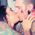Tattooed Couple Fuck by the Fire