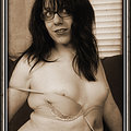 Wendy Summers shows off her cock in her very own silent film.