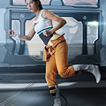 Chell (Portal) nude cosplay