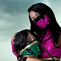 Mileena, Jade (Mortal Kombat) nude cosplay