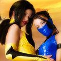 Kitana, Tanya (Mortal Kombat) nude cosplay