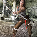 Lara Croft, Tomb Raider nude cosplay