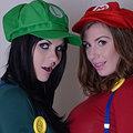 Jessica Jensen, Tina Kay Super Mario sisters