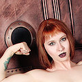Adventurous tattooed steampunk redhead Eidyia