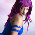 Psylocke (X-Men 3: The Last Stand) nude cosplay