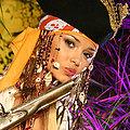 Monkey loves erotic armed pirate girl Lenka