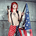 Dangerous Tattooed Redhead Cutie Pandora Von Kit